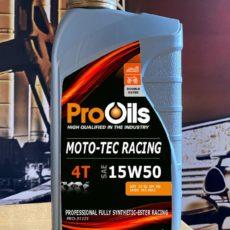 Pro Oils 1 liter - Moto-Tec Racing 15W50